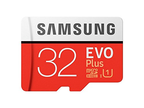 Samsung EVO Plus Grade 1, Class 10 32GB MicroSDHC 95 MB/S Memory Card with SD Adapter (MB-MC32GA/IN) product image