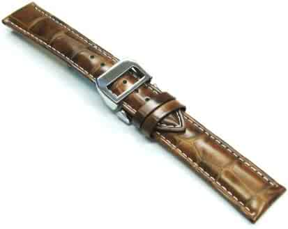 20mm Leather Strap Deployment Band for IWC Watch Lbr Ws7b