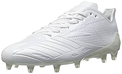 adidas Men's Adizero 5-Star 6.0 Football Shoe,White/White/White,14 M US