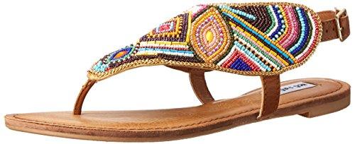 Not Rated Women's Mariachi Dress Sandal, Tan, 9.5 M US