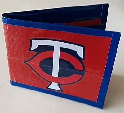 Minnesota Twins MLB Baseball Bi-Fold Duct Tape Wallet
