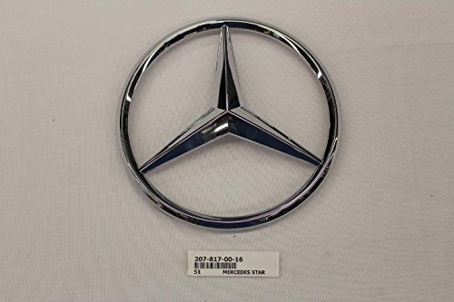 Mercedes-Benz Chrome Front Grill Star Emblem for C-Class, ()