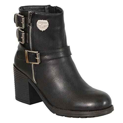 Ladies Biker Style Boots - 7