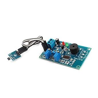 Alarma DC 5V 0-20S Salón retardo sensor efecto módulo de ...