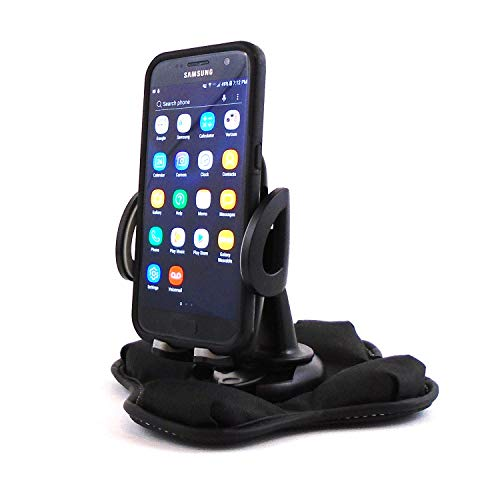 (Portable Dashboard Nonslip Beanbag Friction Mount with Cell Phone Holder)