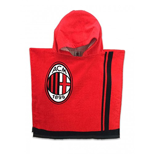 tex family Telo Mare Bimbo Poncho AC Milan Originale