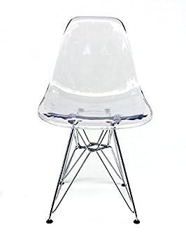 Chaise Tour Eiffel Transparente