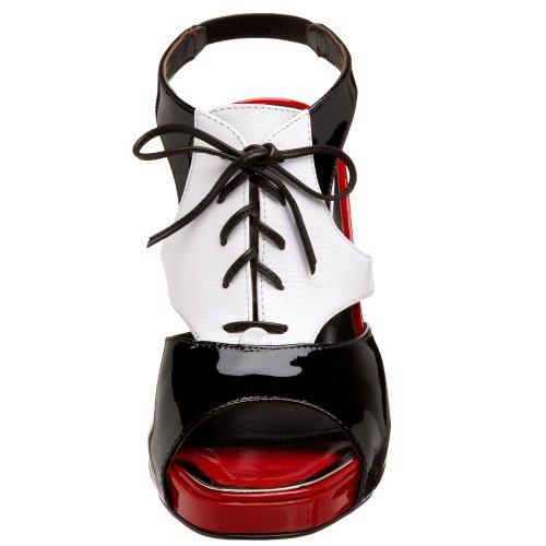 Bianco Sandalo Donne Rosso Nero J Donald Idony Pliner Delle f0HB4xq7n