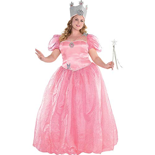 SUIT YOURSELF Glinda Halloween Costume for Women, Wizard of Oz, Plus Size, Includes Accessories]()