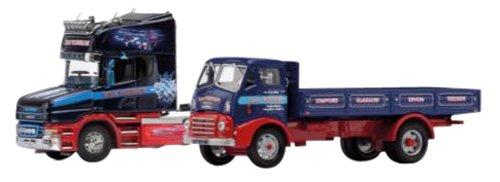 Corgi 1 50 Stan Robinson Commemorative 2 Units Set (Scania T Cab, Maurice 4W Dropside) (Importato da Giappone)