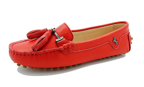 Mujer Leather red Smooth Miyoopark Ballet Rw5xXtqT