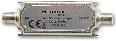 Metronic 440141 - Amplificador de línea, frecuencia: 920-2150 ...