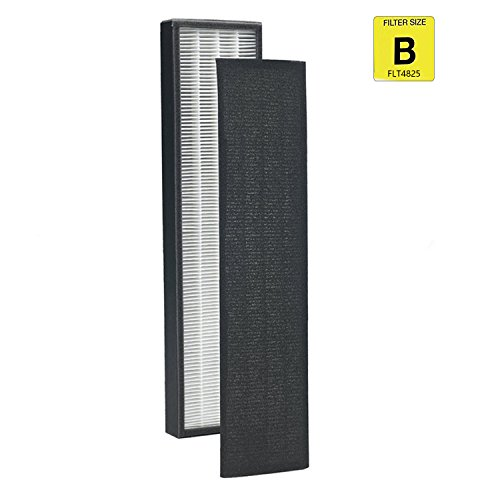 Germ Guardian True Hepa Genuine Replacement Filter B for AC4300/AC4800/4900 Series Air Purifiers FLT4825