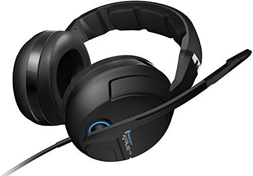 ROCCAT KAVE XTD ANALOG Premium 5.1 Surround Sound Analog Gaming Headset, Black