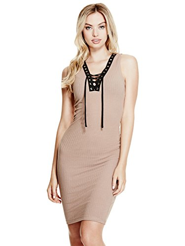 GUESS-Womens-Alondra-Lace-Up-Dress