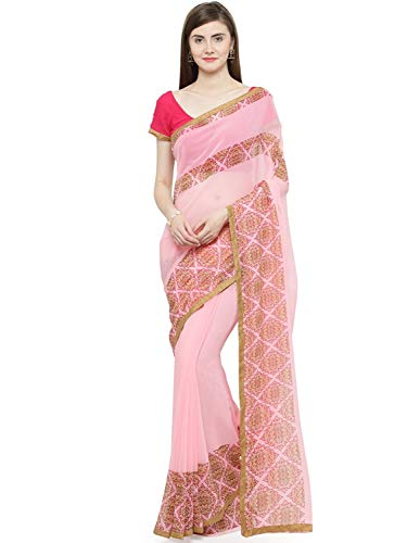 Red Shaily red Women's Printed Saree Georgette Retails simmi1023sssr002t 6wxvqPwfE