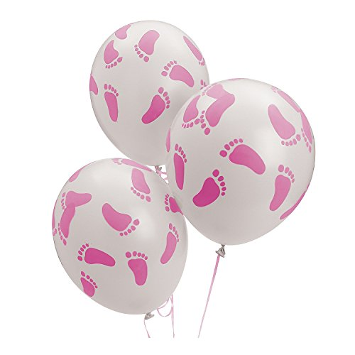 Fun Express Shower Footprint Ballons
