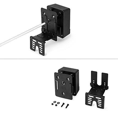 Klarstein van Helsing Pincho giratorio asador accesorio (4W, acero inoxidable, apto parrilla hasta 78cm ancho max, motor eléctrico, ideal barbacoa pinchos): ...