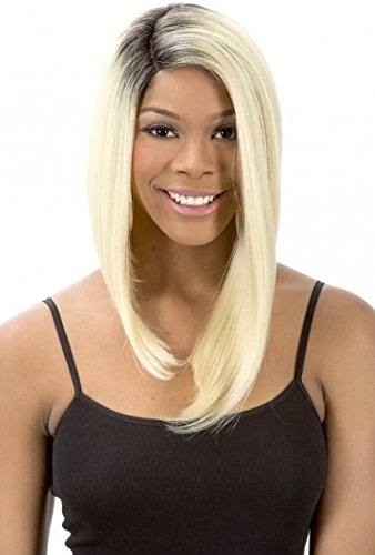 MAGIC LACE CURVED PART 174 SYNTHETIC FULL WIG (1B)
