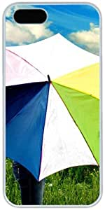 Colorful Umbrella Apple iPhone 5 5S Case, iPhone 5 5S Cases Hard Shell Cover Skin Cases