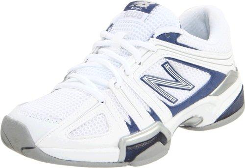 New Balance Women's WC1005-W, White/Blue, 5.5 B US