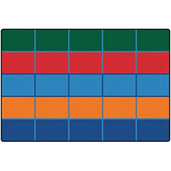 This Item Color Blocks Value Seating Kids Rug Rug Size: 6u0027 X 9u0027