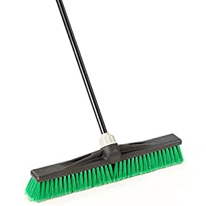 "O-Cedar Commercial 24"" Multi-Surface Maxi-Lok Push Broom"