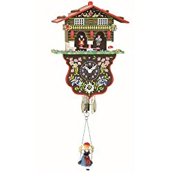 Trenkle Black Forest Clock Swiss House Weather House TU 808 S