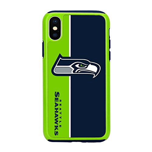 Forever Collectibles iPhone X Dual Hybrid Bold Case - NFL Seattle Seahawks