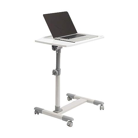 Amazon.com: Mesa auxiliar Lazy para portátil, mesa de salón ...