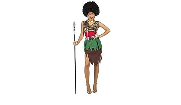 DISFRAZ AFRICANA TALLA M/L TAMAÑO ADULTO: Amazon.es: Juguetes y juegos