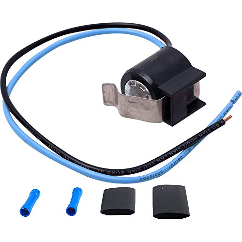 (Ultra Durable 5303918214 Refrigerator Defrost Thermostat kit by Blue Stars - Exact Fit for Frigidaire Kenmore Electrolux fridges - Replaces 75303918214, 892545, AP2150145)