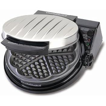 Chef's Choice 830-SE WafflePro Traditional Five-of-Hearts Waffle Maker