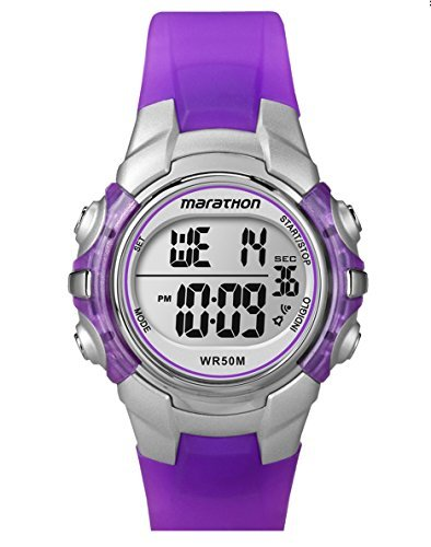 Indiglo Sports Watch (Timex Women's Marathon Sports Purple Digital Watch)
