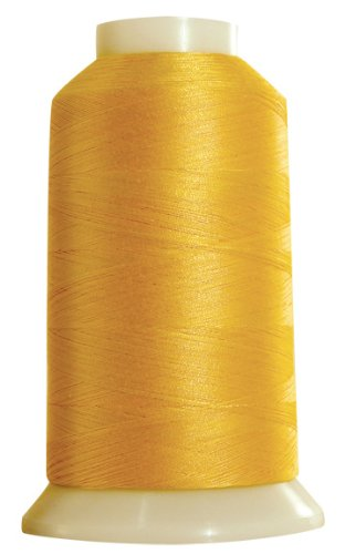 Superior Threads - Egyptian-Grown Cotton Sewing Thread for Piecing, Applique, and Quilting - Masterpiece #124 Yellow Rose, 50/3-Ply, 2,500 Yds.