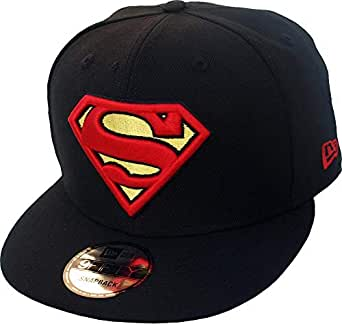 New Era Superman Black DC Comics Snapback Cap Kappe 9fifty Limited ...