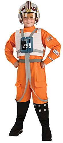[Star Wars Child's X-Wing Pilot Costume, Small] (Top Five Halloween Costumes)