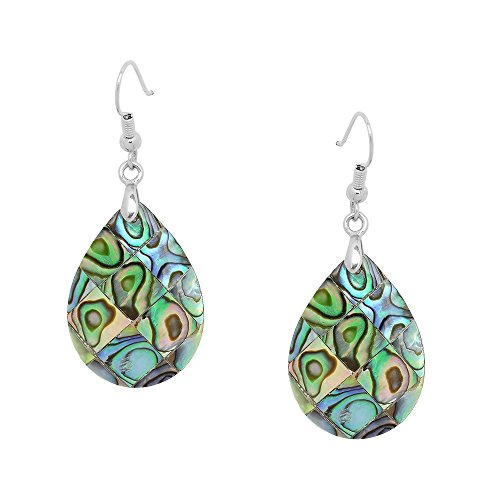 Natural Shell Earrings - Falari Natural Abalone Shell Earring 40 Variety All In One Place E0418