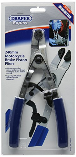 Draper 30838 Expert 240Mm Motorcycle Brake Piston Pliers (Rings Motorcycle Piston)