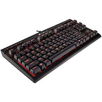 CORSAIR K63 Compact Mechanical Gaming Keyboard - Linear & Quiet - Cherry MX Red