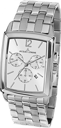 Jacques Lemans Mens Watch Classic Bienne Chronograph 1-1906F