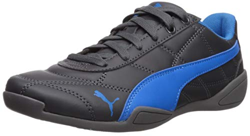 PUMA Unisex Kid's Tune Cat 3 Sneaker, Asphalt-Indigo Bunting, 4 M US Big Kid
