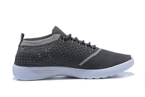 Course Tricot Kenswalk En Athltique Chaussure Gris Chaussures Sportive De Lgre Pied qggEZPTw