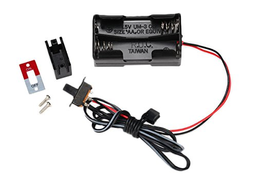 Cell Switch - Traxxas 3170X 4-Cell Battery Holder with On-Off Switch