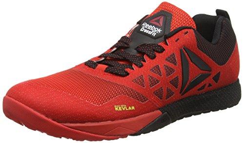 Reebok R Crossfit Nano 6.0, Zapatos Deportivos Para Hombre, Multicolor (Red/Black), 44.5...