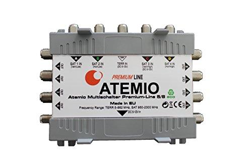 Atemio MS5/8PLP-3 Multischalter Premium-Line 5/8 eco