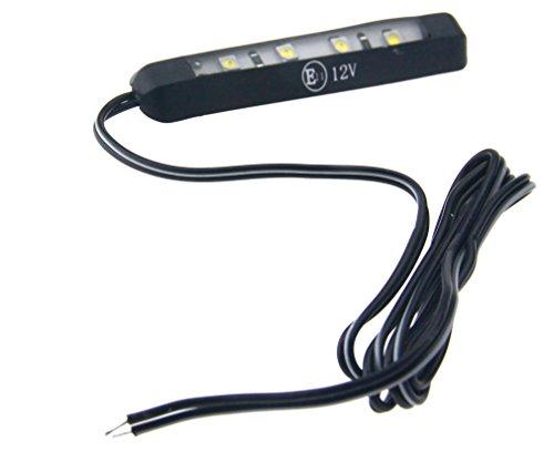 12V 4LEDs Auto Kennzeichenleuchte Kennzeichenbeleuchtung Weiß