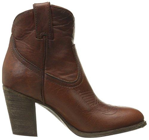 FRYE Womens Ilana Short Western Boot Cognac-76799 zCyOd