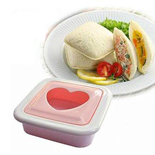 Dolloress PP Material Non-Toxic Tasteless Heart Shape DIY Sa