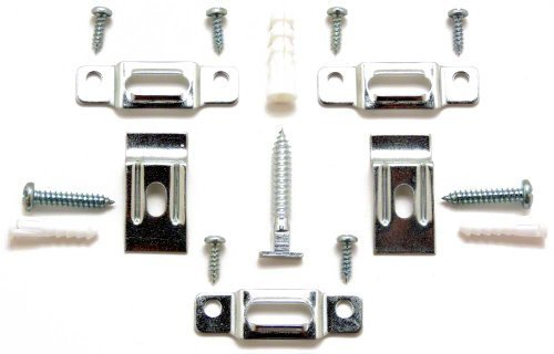 T-Lock security hangers locking hardware set for (75) wood or aluminum picture frames plus 2 free HARDENED wrenches! by ArtRight